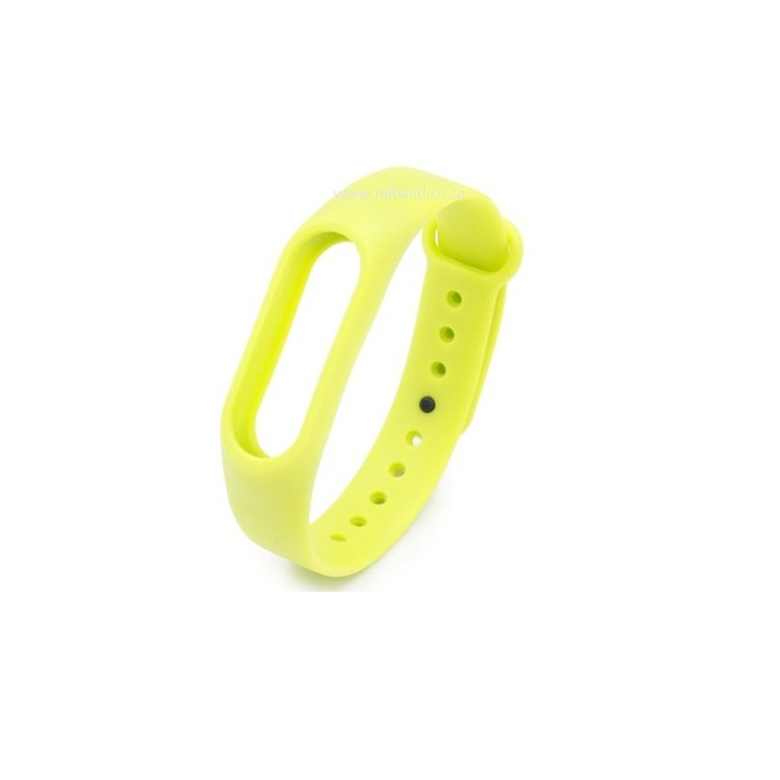 Xiaomi Miband 2 -Replacement Silicone Strap - Fluo Green
