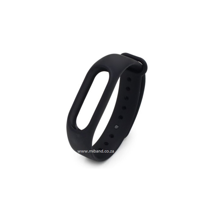 Xiaomi Miband 2 -Replacement Silicone Strap - Black