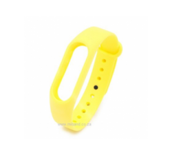 Xiaomi Miband 2 Smart Watch  -Replacement Silicone Strap -  Yellow